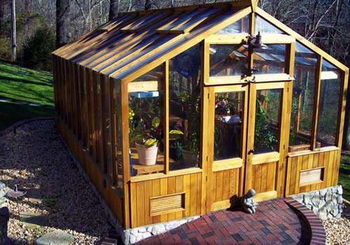 Outdoor Living Greenhouse